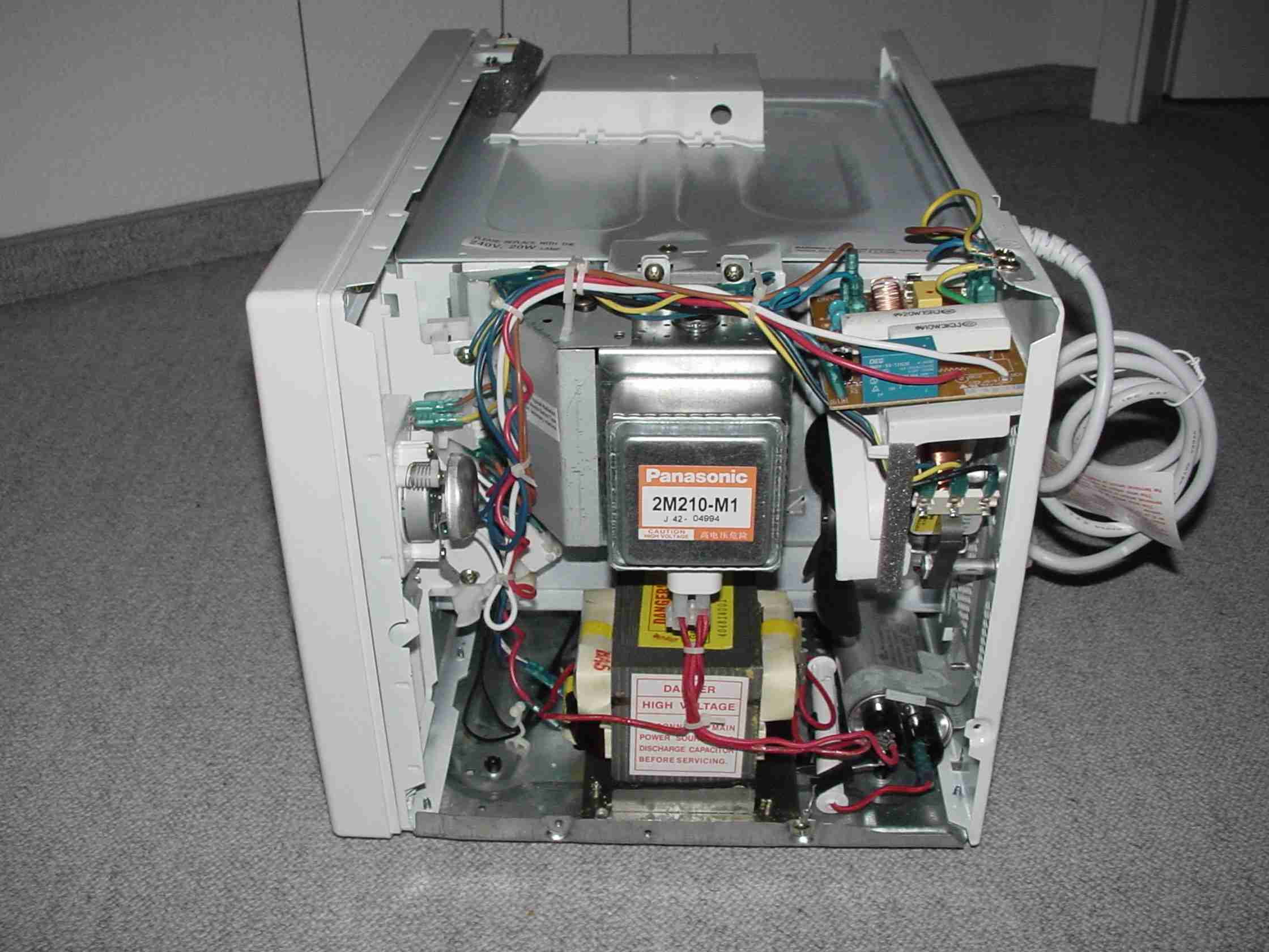 Mikrowellentrafos MOT